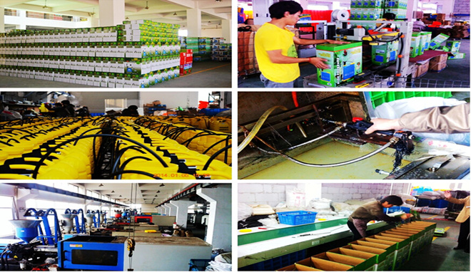 Farmguard sprayer factory workshop,GUANG FENG PLASTIC CO.LTD from chinese-sprayer.com